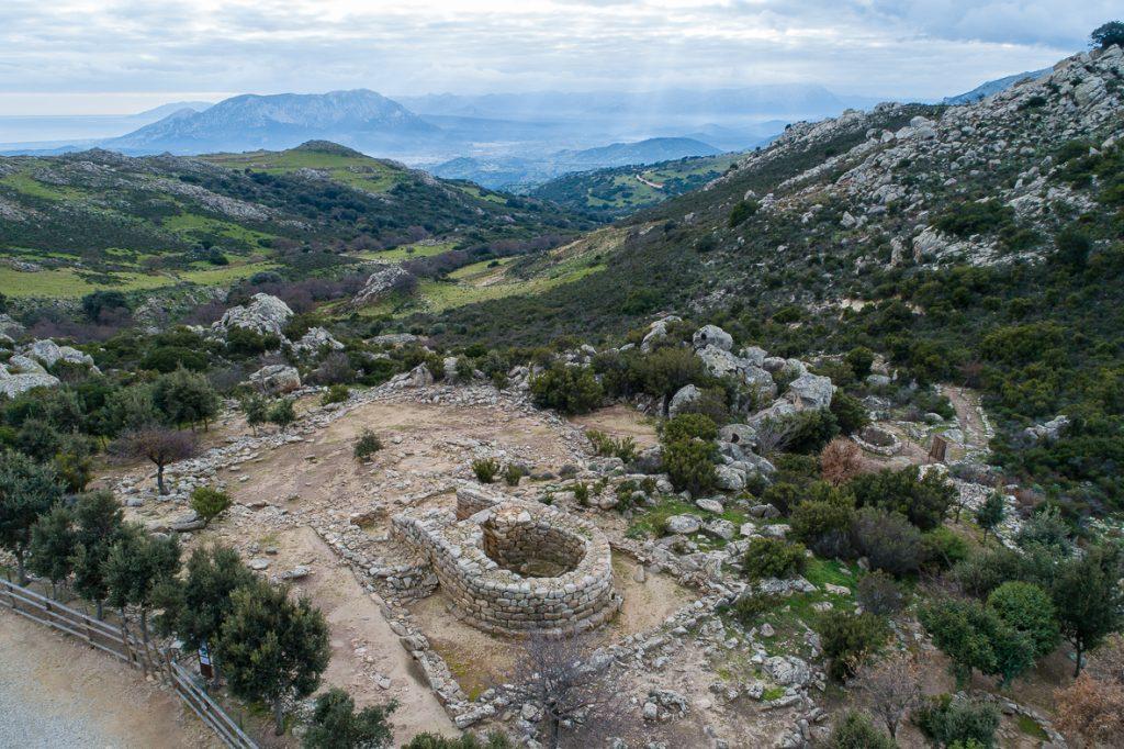 Resti santuario nuragico di Janna 'e Pruna e Su Notante