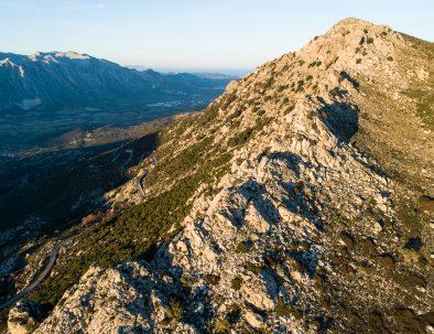 Vista dalla cima del Monte 'e Senes
