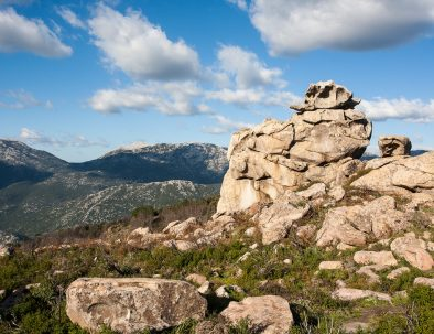 Vista dell'escursione da Galenorra a Pontesu