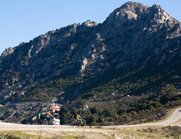 Escursione mountain bike da Irogli a Norghio