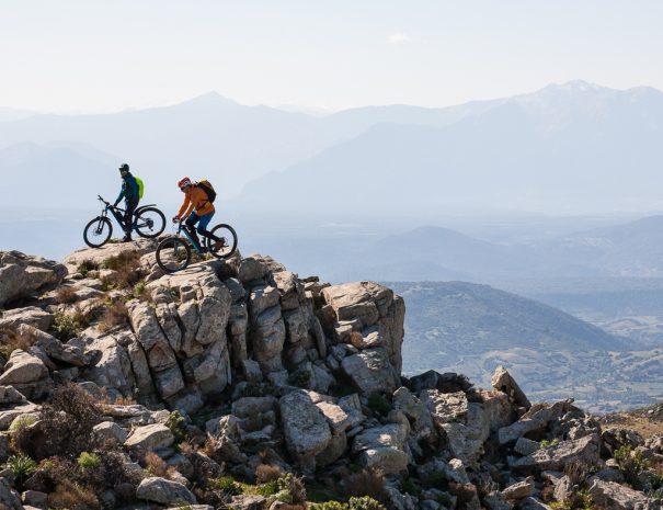 Mountain bike sul Monten 'e Senes