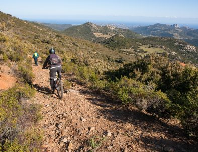 Sentiero mountain bike da Irgoli a Norghio