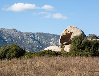 Rocce sul sentiero di Sa Mesa